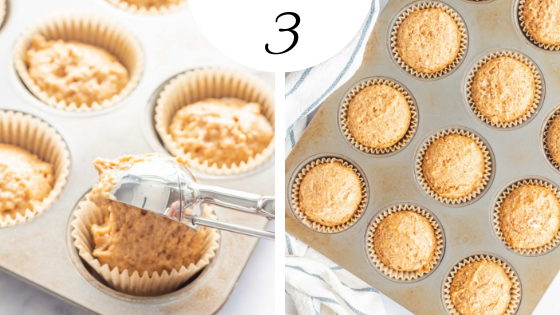 Flaxseed Muffins are so easy to make - delicious and healthy!