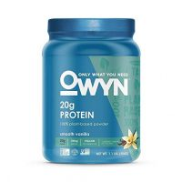 Owyn, Protein Powder Plant Based Smooth Vanilla, 19 Ounce