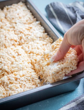 Easy Rice Krispie Treats // easy dessert // rice krispie treats #dessert #easydessert #glutenfree
