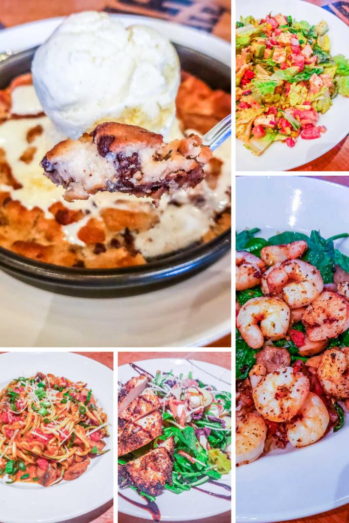 BJ's Restaurant gluten free options in San Diego