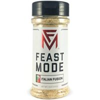 Italian Fusion - Feast Mode Flavors - Low Sodium, No MSG, Gluten Free, All Natural, Meal Prep Seasoning , Healthy , Parmesan , Crushed Red Pepper