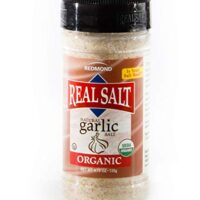 REDMOND REAL SALT Organic Garlic Salt, 4.75 OZ