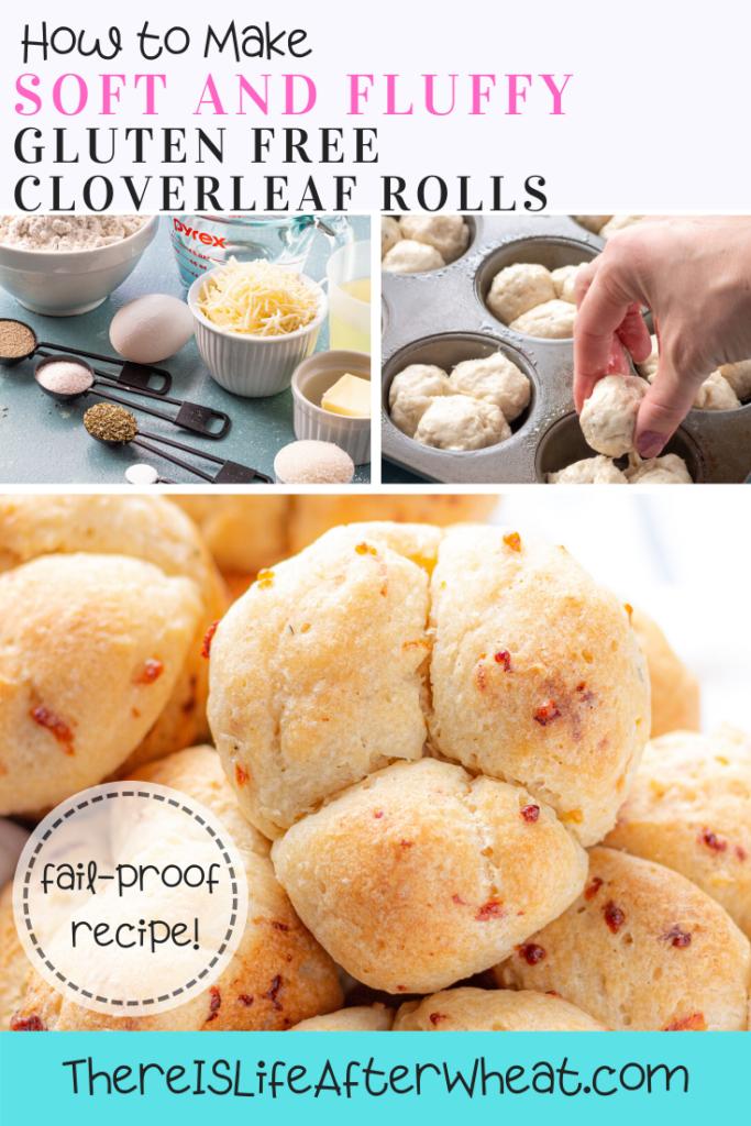 how to make gluten free cloverleaf rolls
