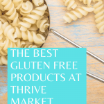 the best gluten free products at Thrive Market. Picture of pasta
