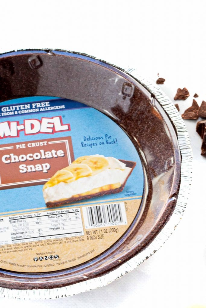 gluten free chocolate cookie crust