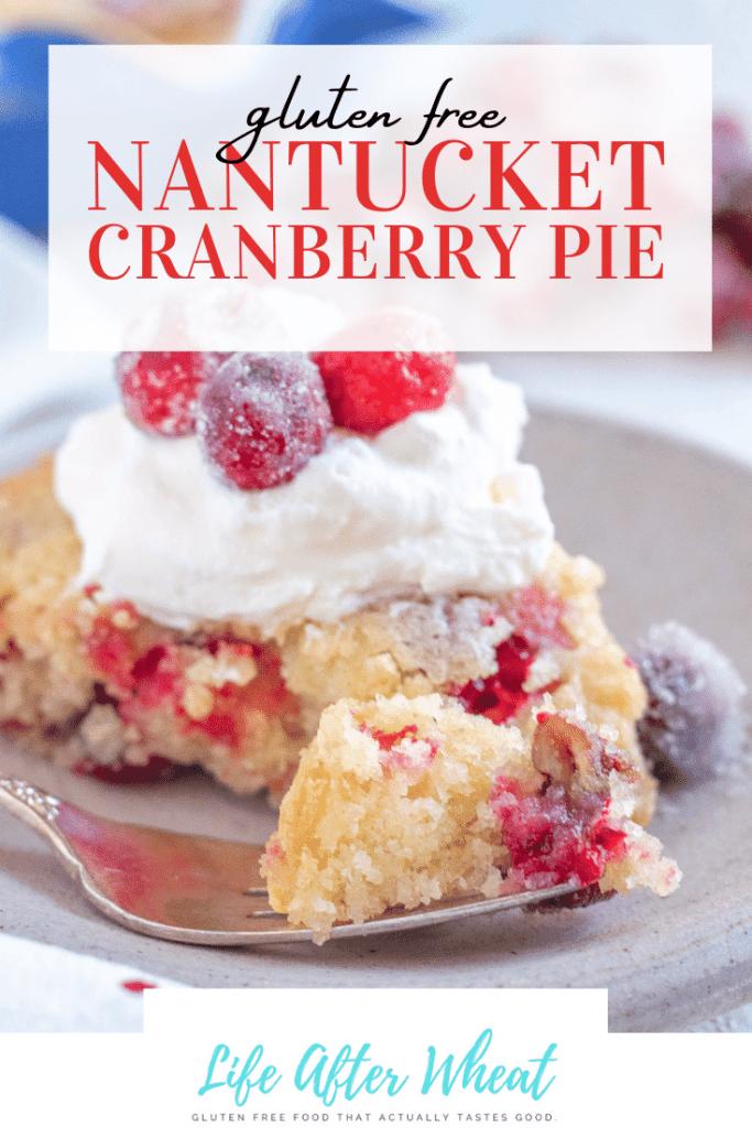 gluten free cranberry pie